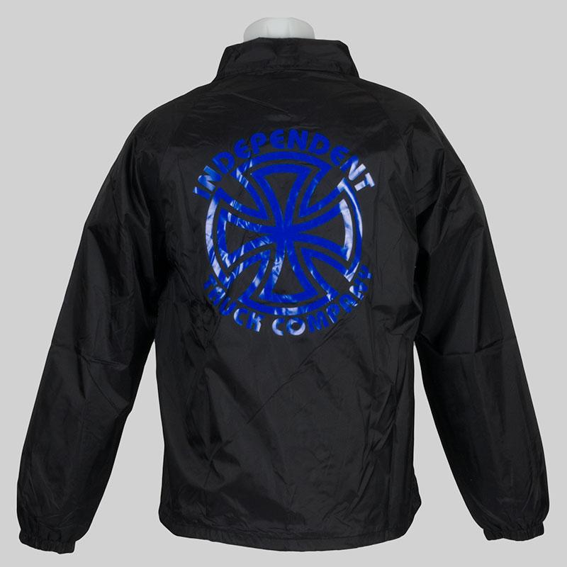 Independent Trucks Clothing Coach Jacket Logo Black At