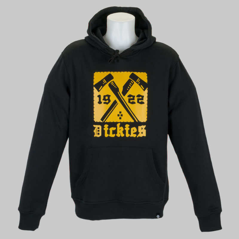 Buy dickies clothing hoody mendon black at skate pharm for Dickey shirts clothing co