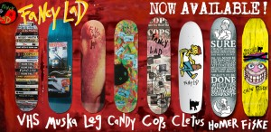 Fancy Lad Skateboards Lineup